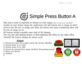 #19 cho Graphic Design , an Icon set images to make GIF based animated UX Buttons. bởi Akhy99