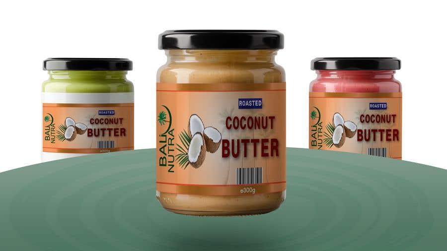 Konkurrenceindlæg #                                        58                                      for                                         Food Label design (4 x flavors of Butter, Almond, Peanut, Cashew, Original)