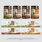 Graphic Design Konkurrenceindlæg #11 for Food Label design (4 x flavors of Butter, Almond, Peanut, Cashew, Original)