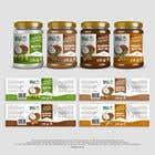 Graphic Design Konkurrenceindlæg #24 for Food Label design (4 x flavors of Butter, Almond, Peanut, Cashew, Original)