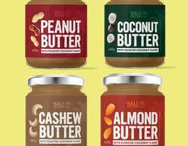 #55 for Food Label design (4 x flavors of Butter, Almond, Peanut, Cashew, Original) af shiblee10