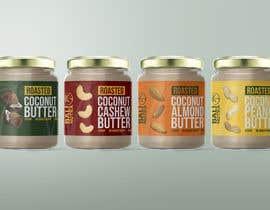 #51 for Food Label design (4 x flavors of Butter, Almond, Peanut, Cashew, Original) af kalnienk