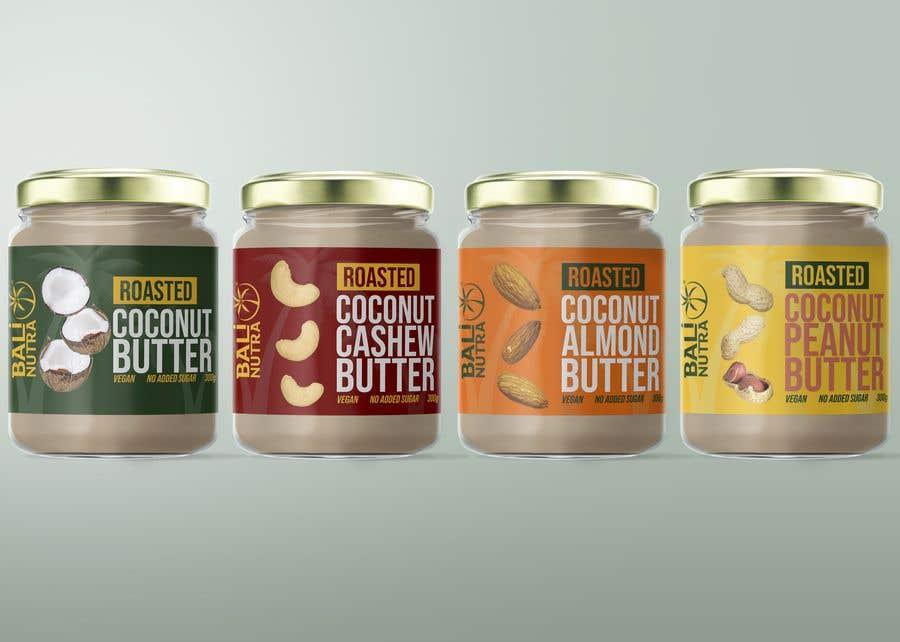Konkurrenceindlæg #                                        57                                      for                                         Food Label design (4 x flavors of Butter, Almond, Peanut, Cashew, Original)