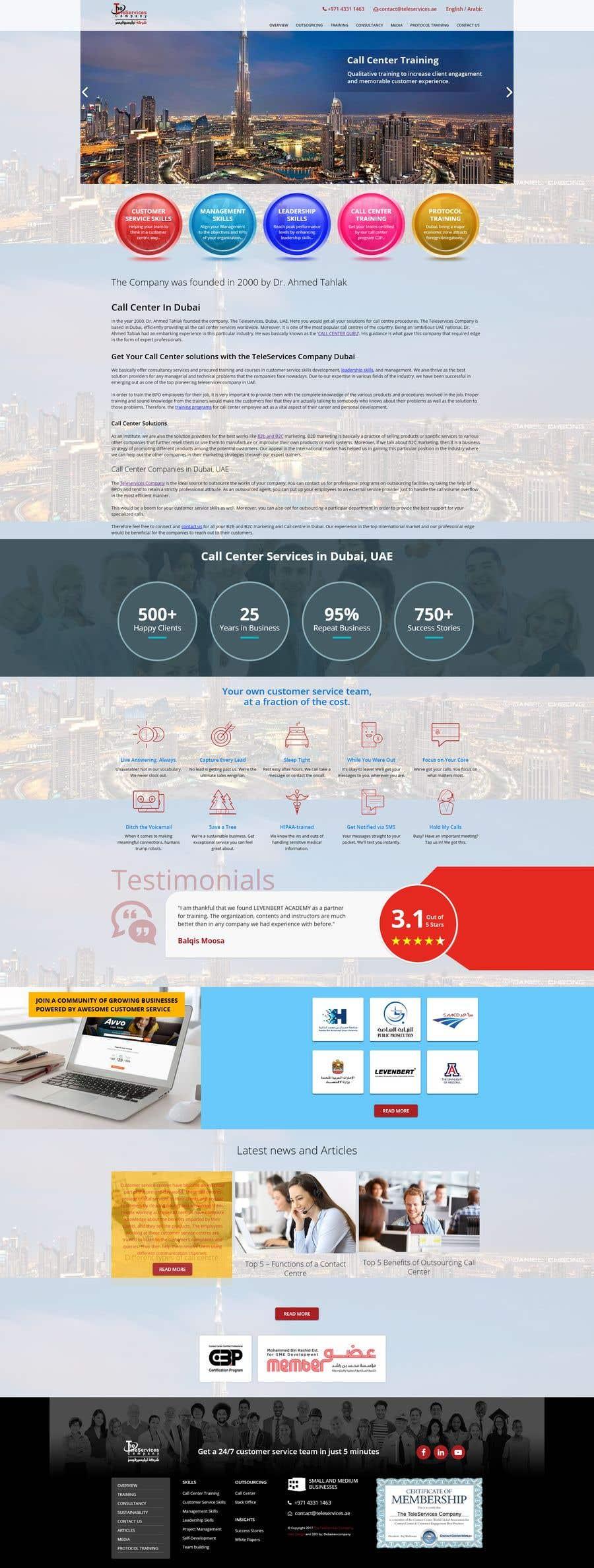 Konkurrenceindlæg #                                        15                                      for                                         Build Excellent Front Page Of our website - 14/05/2021 12:47 EDT