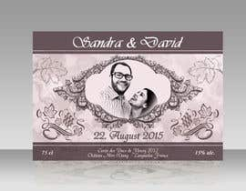 #30 untuk Design a wine bottle label for a wedding! oleh AhmedAmoun