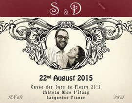 #14 untuk Design a wine bottle label for a wedding! oleh BuddyArts