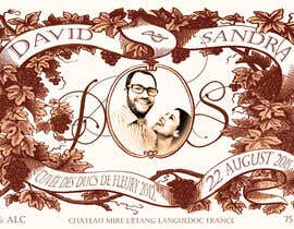 #36 untuk Design a wine bottle label for a wedding! oleh adamitchell