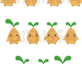 #57 untuk Cute Character Design to be used for Logo Branding - A Cute Seed Character oleh Dielissa