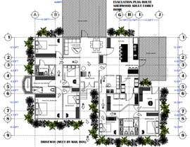 #35 for Draw a professional floor plan from a hand drawing by Ferupe