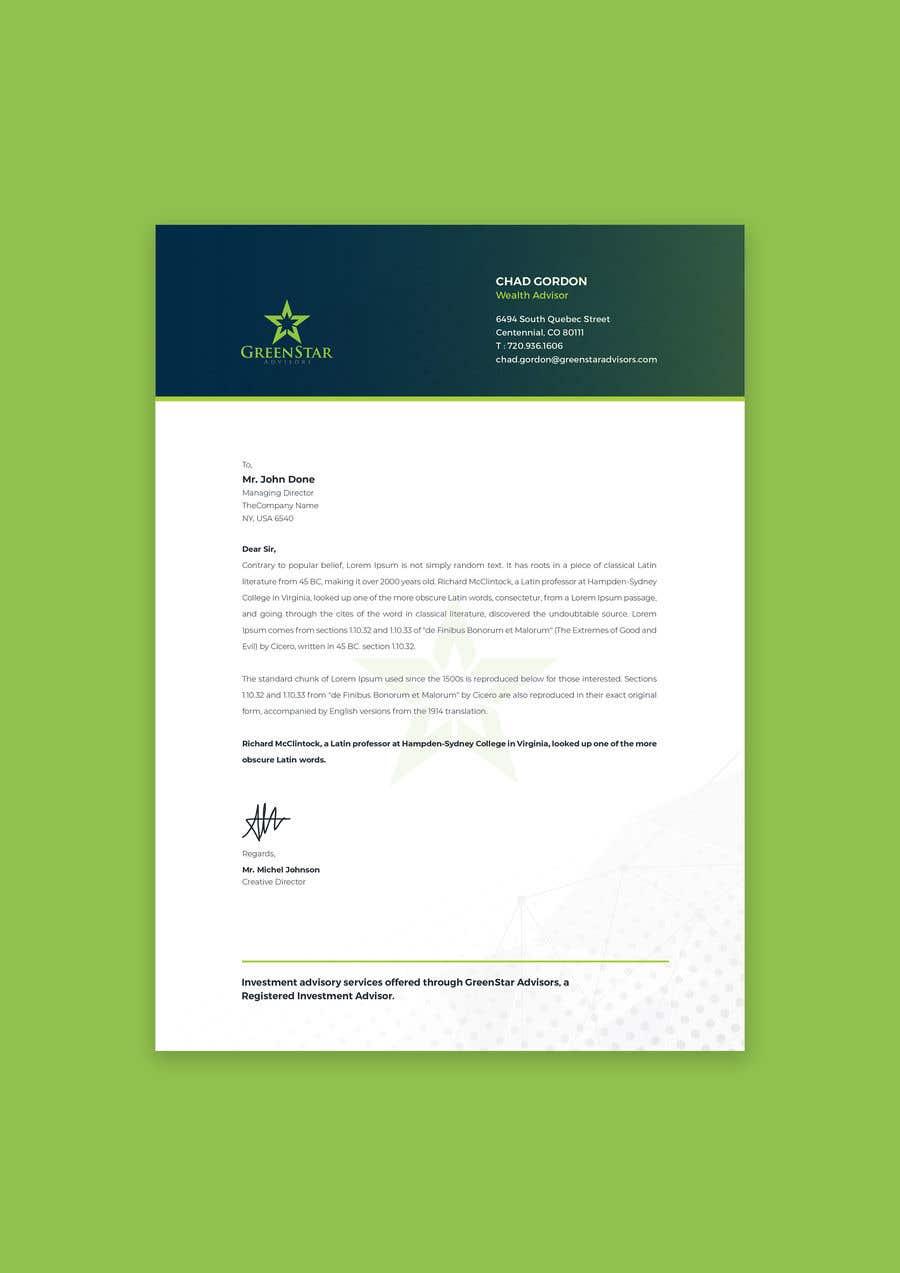 "Penyertaan Peraduan #                                        139                                      untuk                                         Design a Letterhead, Agenda, Microsoft Word ""Style Set"""
