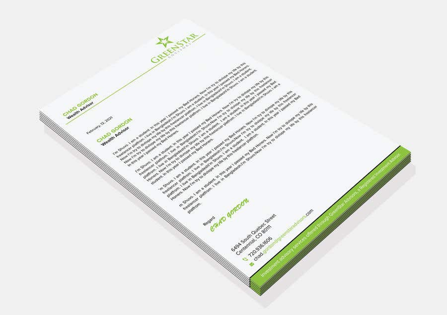 "Penyertaan Peraduan #                                        159                                      untuk                                         Design a Letterhead, Agenda, Microsoft Word ""Style Set"""
