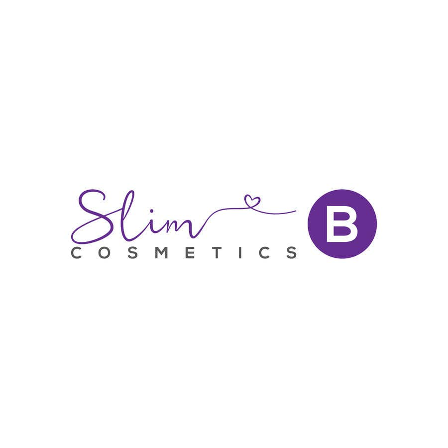 Bài tham dự cuộc thi #                                        30                                      cho                                         Logo for cosmetics brand Slim B Cosmetics