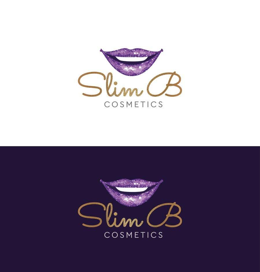 Bài tham dự cuộc thi #                                        37                                      cho                                         Logo for cosmetics brand Slim B Cosmetics
