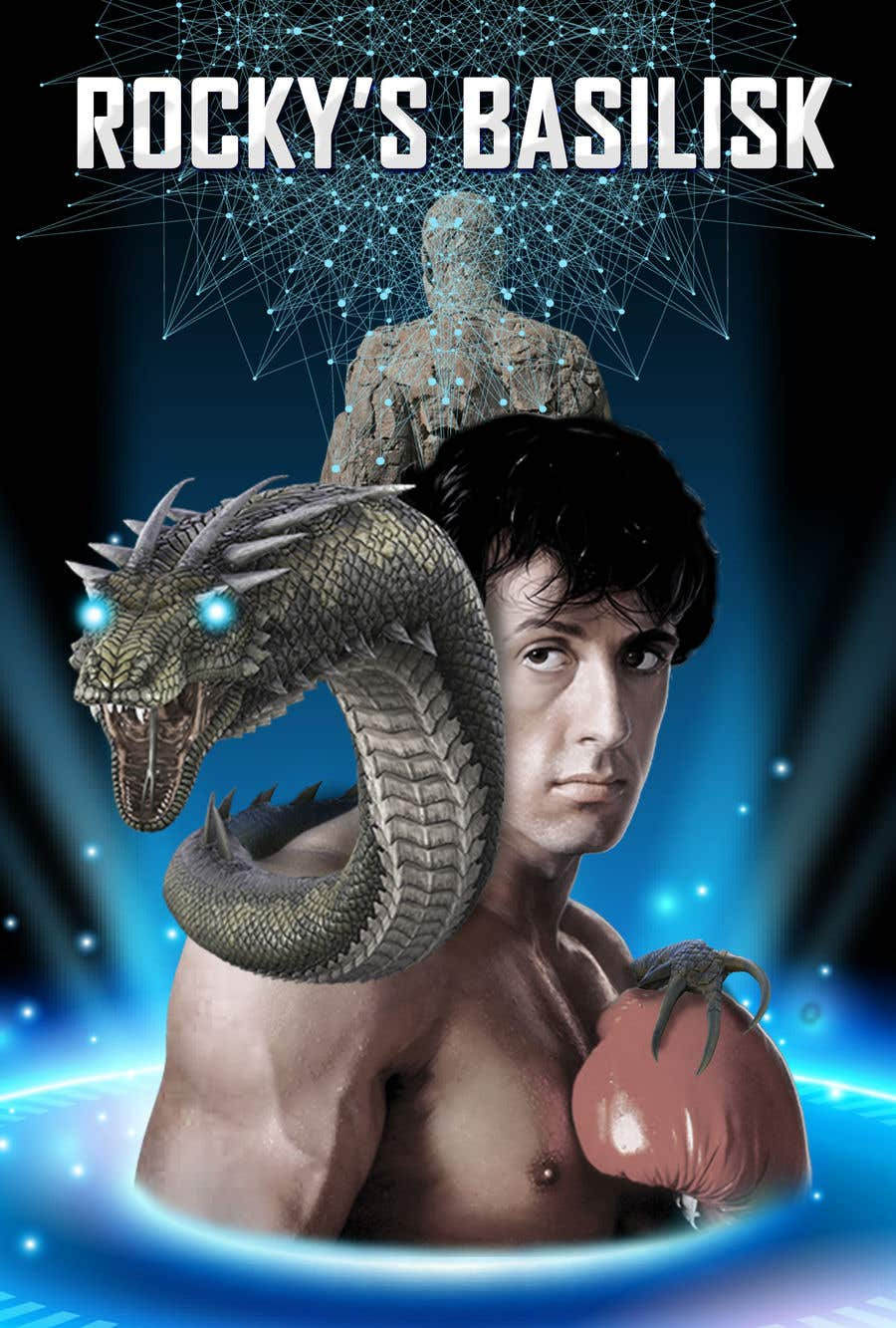Contest Entry #                                        33                                      for                                         Rocky's Basilisk movie poster