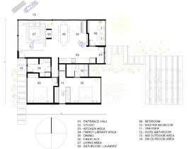 Nro 33 kilpailuun Home Floor Plan käyttäjältä lautaroaraneo