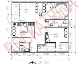 Nro 17 kilpailuun Home Floor Plan käyttäjältä rockatrina