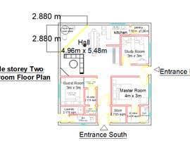 Nro 16 kilpailuun Home Floor Plan käyttäjältä proyanuman040