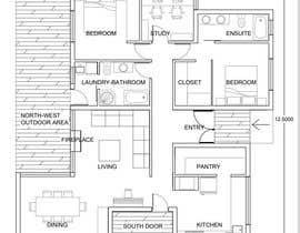 Nro 24 kilpailuun Home Floor Plan käyttäjältä julietadejeanne