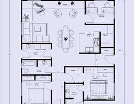 Nro 29 kilpailuun Home Floor Plan käyttäjältä shereenadel96