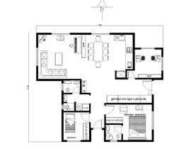 Nro 20 kilpailuun Home Floor Plan käyttäjältä engmarwandarwish