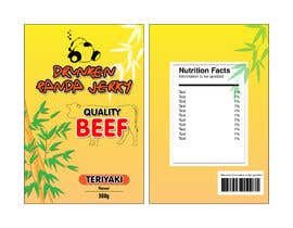 #13 for Beef Jerky Packaging af stanleydxb