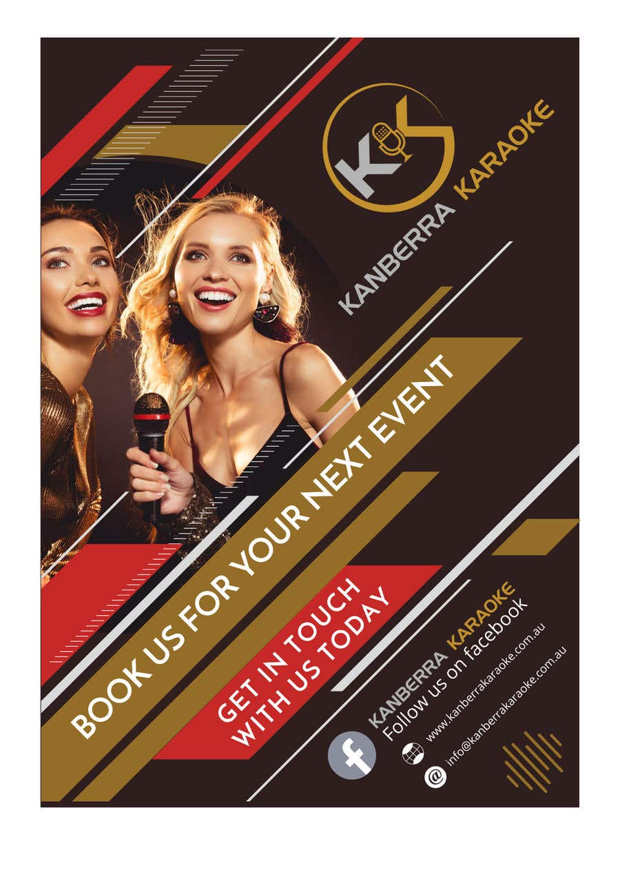 Contest Entry #                                        29                                      for                                         Pull Up Banners - For my Karaoke Business.