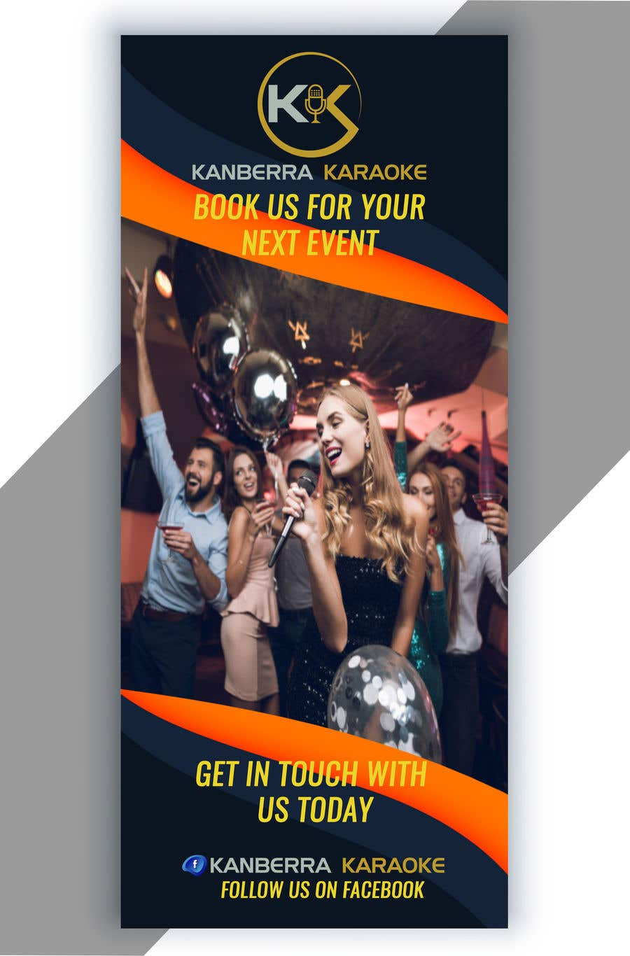 Contest Entry #                                        15                                      for                                         Pull Up Banners - For my Karaoke Business.