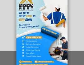 #54 for build me a flyer for  house painting company by fahimmoonFX
