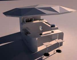 mohon11님에 의한 mall Kiosk stand design 2m x 3m  H 2.5을(를) 위한 #31