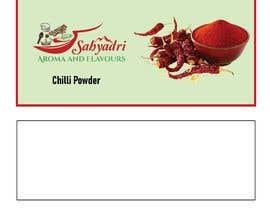 #36 for Self standup pouch label (sticker) design af expresooodesigne