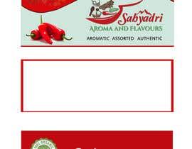 #28 for Self standup pouch label (sticker) design af samiunahmed2556