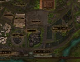 #10 untuk Нужно нарисовать карту района города для DnD игры. oleh tonyirej