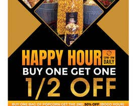 #197 for Create a flyer for Happy Hour by savitamane212