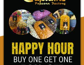 #190 for Create a flyer for Happy Hour by ahmedex21