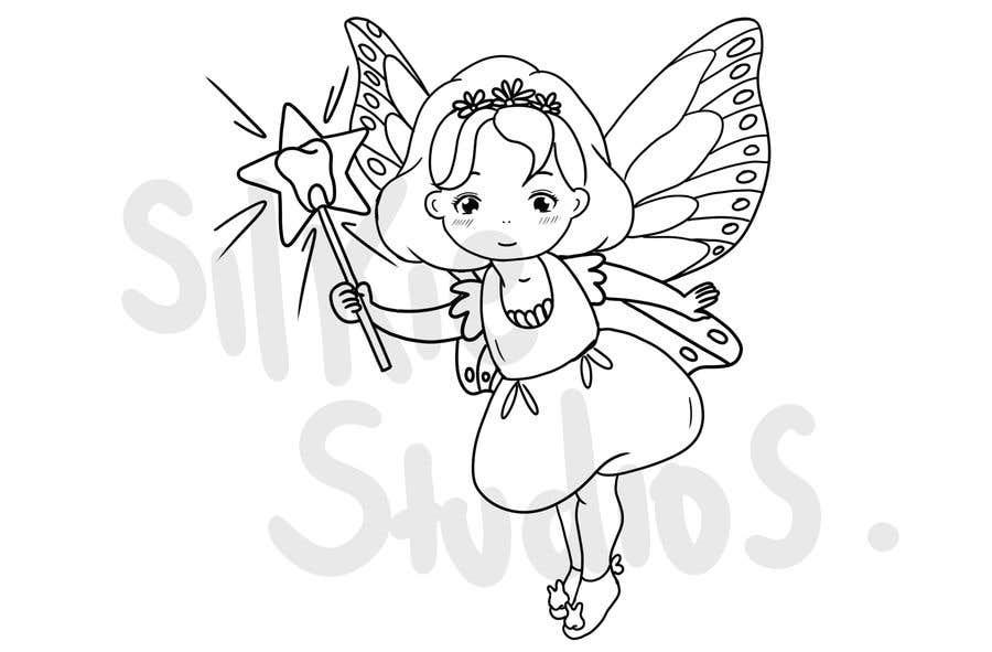 Penyertaan Peraduan #                                        75                                      untuk                                         Draw a cute fairy and make a fairy certificate