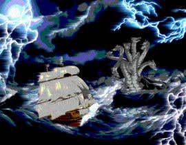 #6 untuk Illustration Re-Do (Ship in Stormy Sea) oleh vojcaman