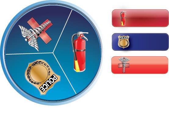 Konkurrenceindlæg #14 for Design some Icons for Emergency Services