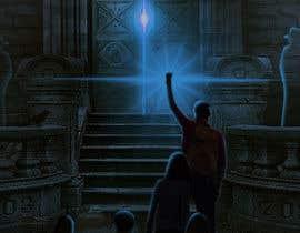 #161 for Nightwalker Cover Art - Spooky YA Fantasy by ritika369