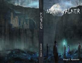 nº 374 pour Nightwalker Cover Art - Spooky YA Fantasy par harrelvila