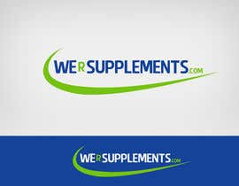 #47 para Design a Logo for wersupplements por Lozenger