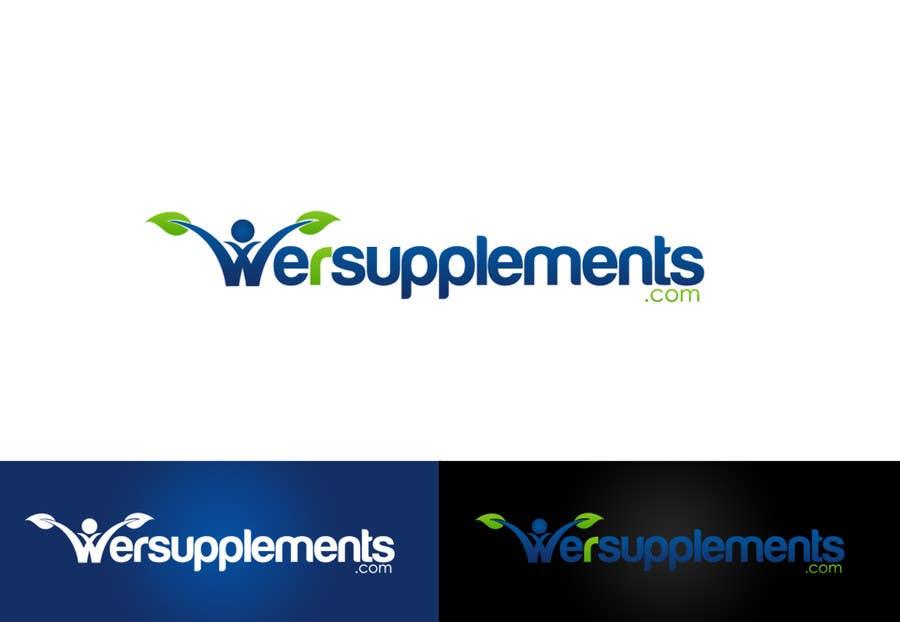 Inscrição nº 164 do Concurso para Design a Logo for wersupplements