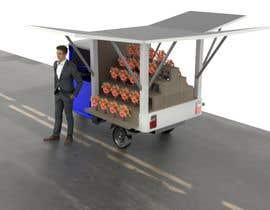 Nro 7 kilpailuun Tuktuk Flower Stall Design käyttäjältä arifinjulian
