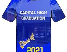 #9 for Cap high graduation shirts af Aravindh4031