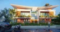 Building Architecture Konkurrenceindlæg #3 for Facade duplex house proposal desing
