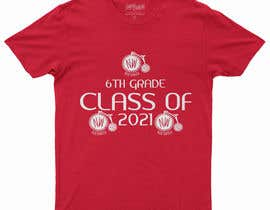 #61 untuk Northwood class of 2021 t shirt design oleh Sulaimanhossain3