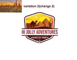 #97 untuk Logo - Off Road UTV Side By Side Logo, Arizona Desert, Pine Trees, Cactus Mountains, camels pyramids. oleh munmun87