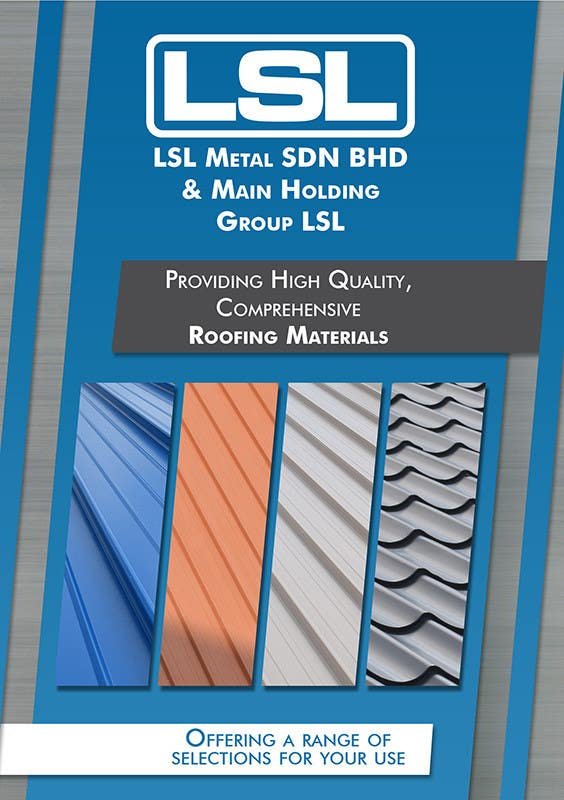 Contest Entry #                                        18                                      for                                         Design a cover for high-end metal roof colour chart