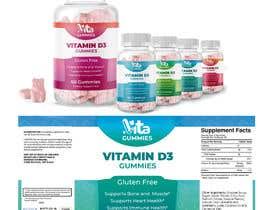 #69 for Eye Catching Modern Gummy Specific Vitamin and Supplement Brand by mariyabudishevsk