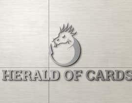 #631 para Online Store Logo - Herald of Cards por smithbappy22