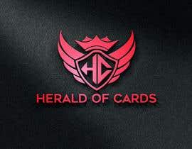 #786 para Online Store Logo - Herald of Cards por mdsagarit420